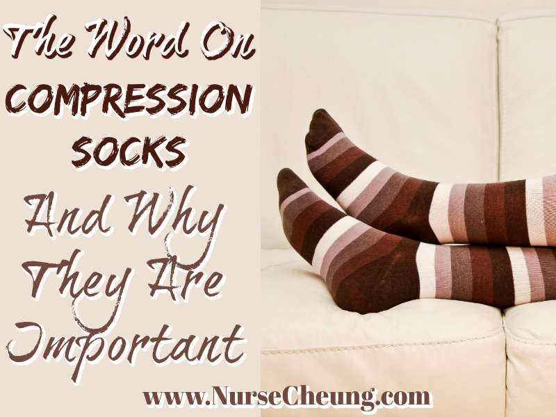 Brown and Tan Compression Socks and Why They Are Important