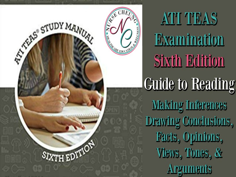 ATI TEAS GUIDE TO READING UNDERSTANDING MAKING INFERENCES